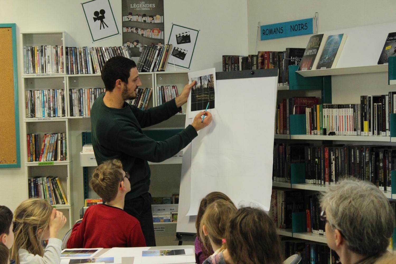 Atelier dessin avec Dorian Cohen