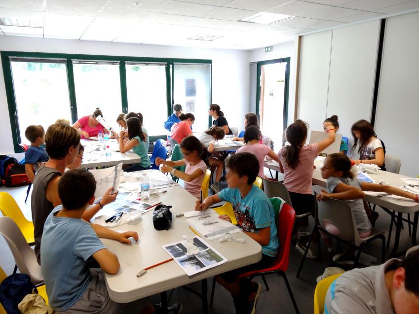 Classe de CM2 de l'école élémentaire publique Les 3 rivuères, Breteil