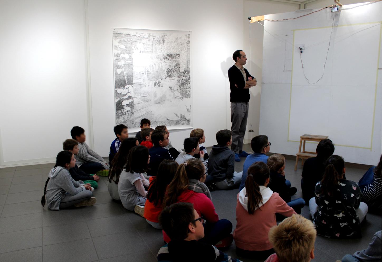 Rencontre avec Julie Bonnaud et Fabien Leplae - classe CM2 de l'école privée Notre-Dame de Montfort-sur-Meu