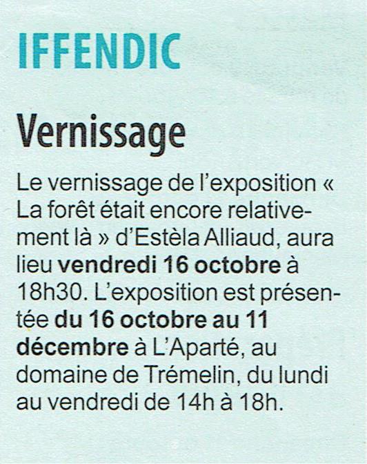 Hebdomadaire d'Armor - 10 octobre 2015