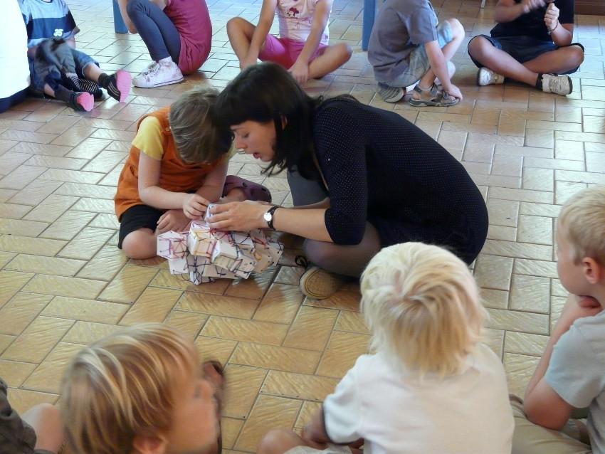 Rencontre avec Aurélie Mourier - le 3 octobre 2011 - école de Breteil