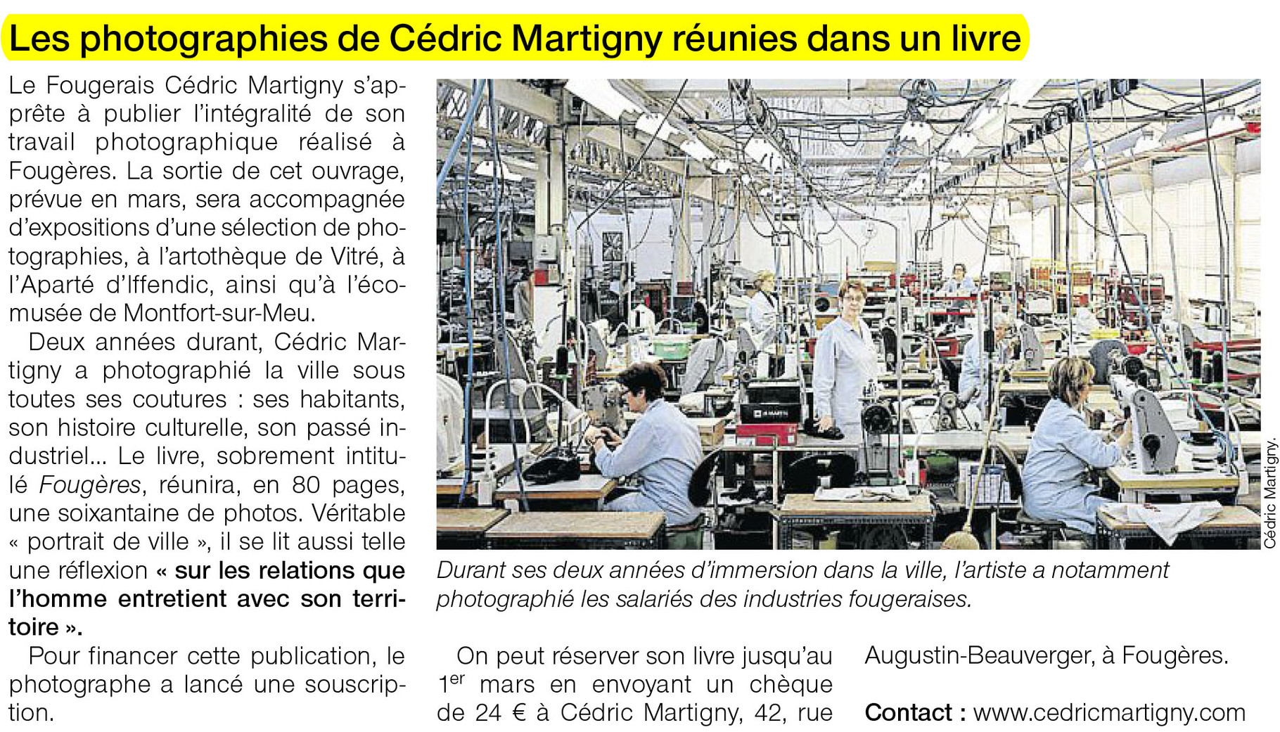 Ouest-France - 9 mars 2013