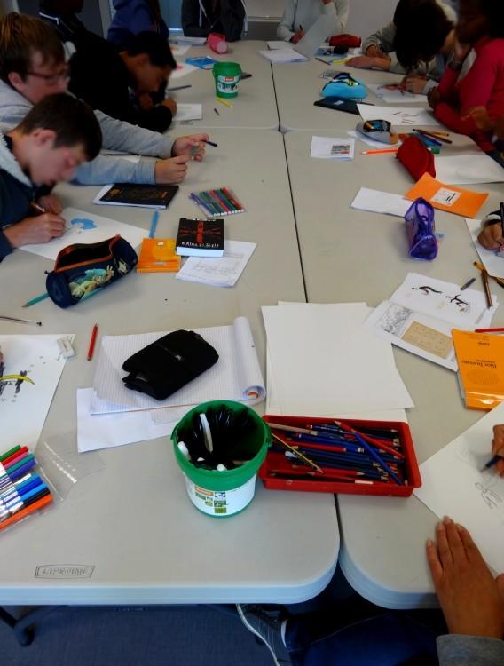 Classe ULIS Collège privé Saint-Louis-Marie Montfort-sur-Meu