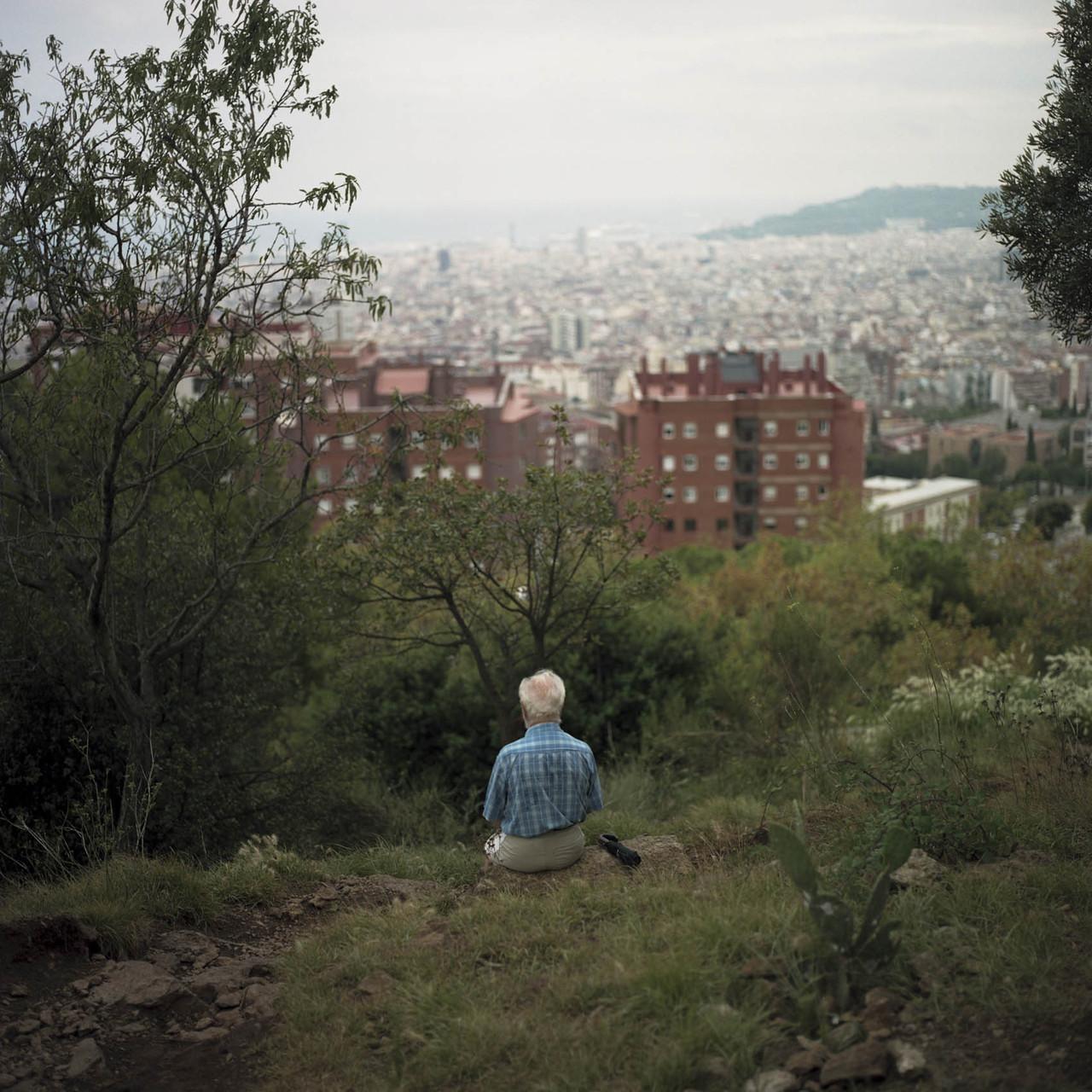 Marc Loyon, Barcelone/Contours, 2014.