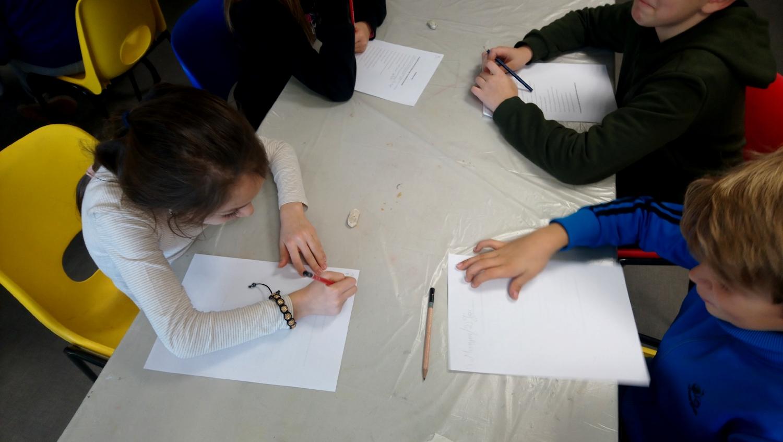 JUMELAGE Rencontre avec Julie Bonnaud et Fabien Leplae - classe de CM1 de l'école Edmond Rostand de Rennes