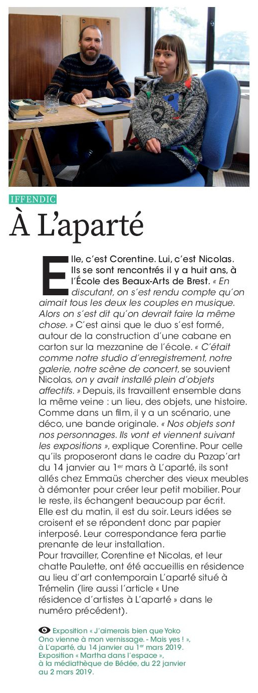 Article Agir Ensemble n°75 p.16