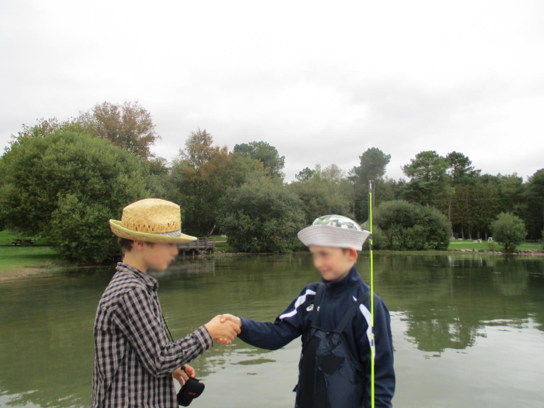 Projet photo : Le pêcheur et Vincent - CE2-CM1 école publique du Moulin à Vent de Montfort-sur-Meu