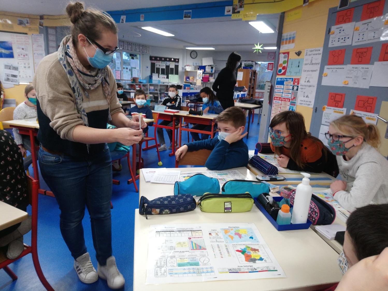 Ecole élémentaire publique Moulin à vent, Montfort-sur-Meu - Classe de CM1-CM2