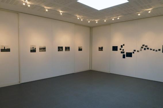 Vue de l'exposition Israel Ariño, Terra Incognita