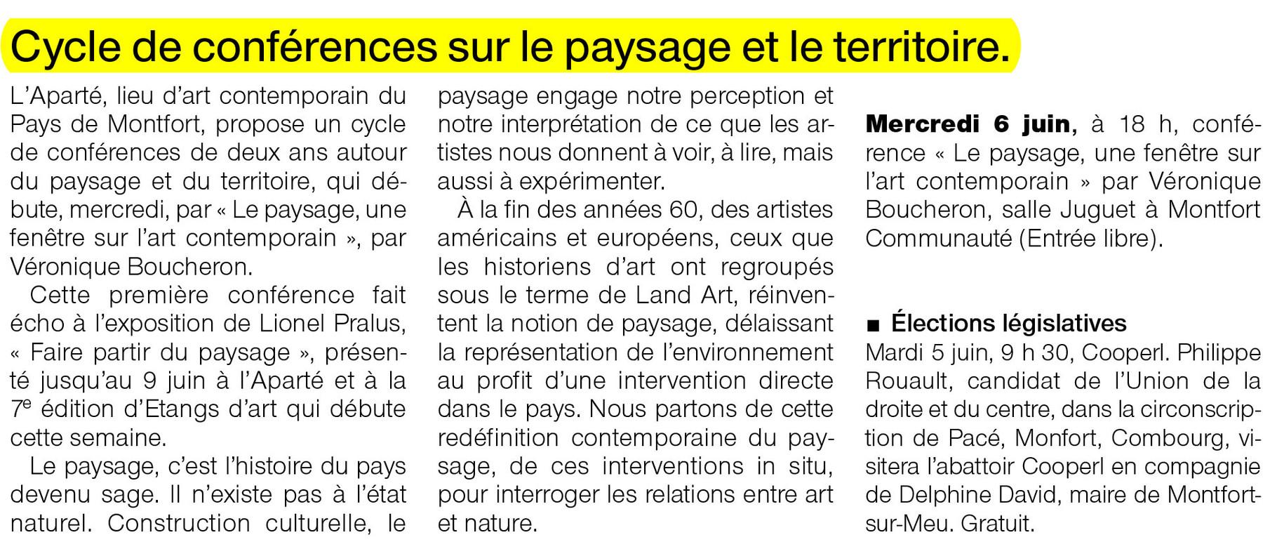 Ouest-France - 5 juin 2012