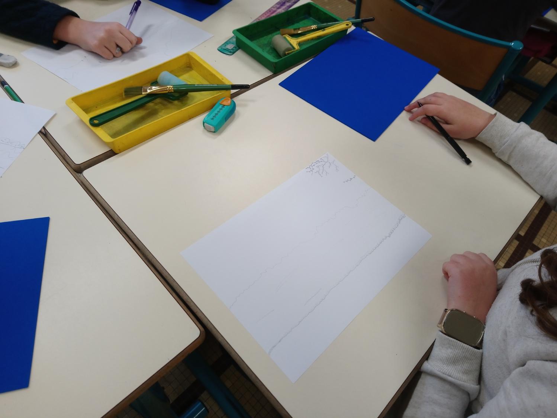 Classe de CM2 de l'école Pays Pourpré à Montfort-sur-Meu