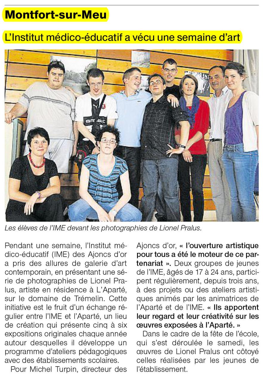 Ouest-France - 12 juin 2012