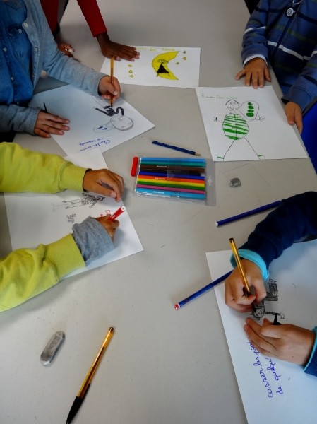 CE1 école élémentaire publique de Bédée