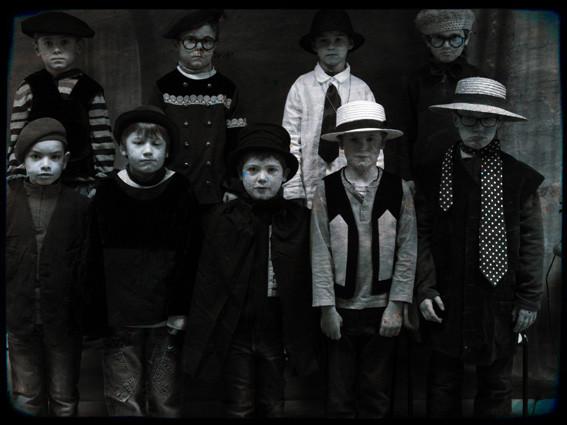 Photo de garçons - CE1 école élémentaire publique Fée Viviane Iffendic