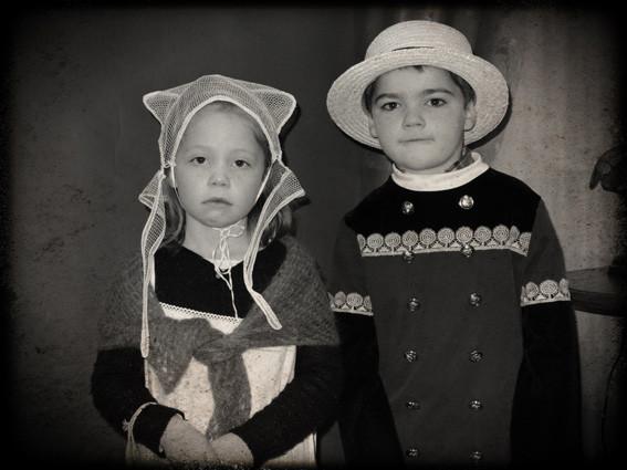 Photo de couple - CP école élémentaire publique Fée Viviane Iffendic