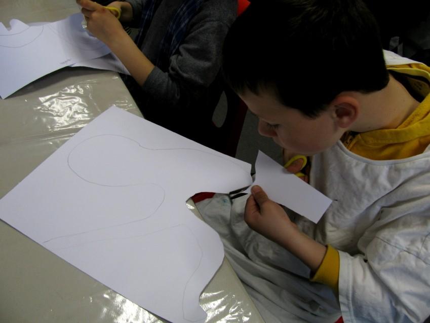 CP école élémentaire publique Le Petit Prince, Pleumeleuc le 09.04.15