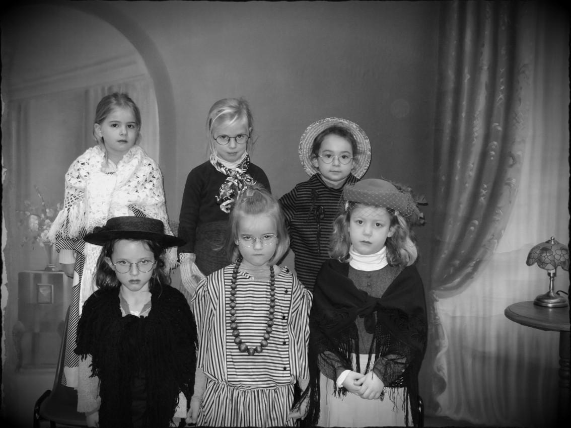 Photo de filles - GS école maternelle Moulin à Vent Montfort-sur-Meu