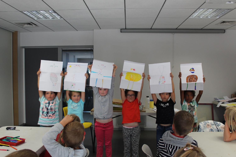 Classe de CP de l'école Saint-Michel de Bédée