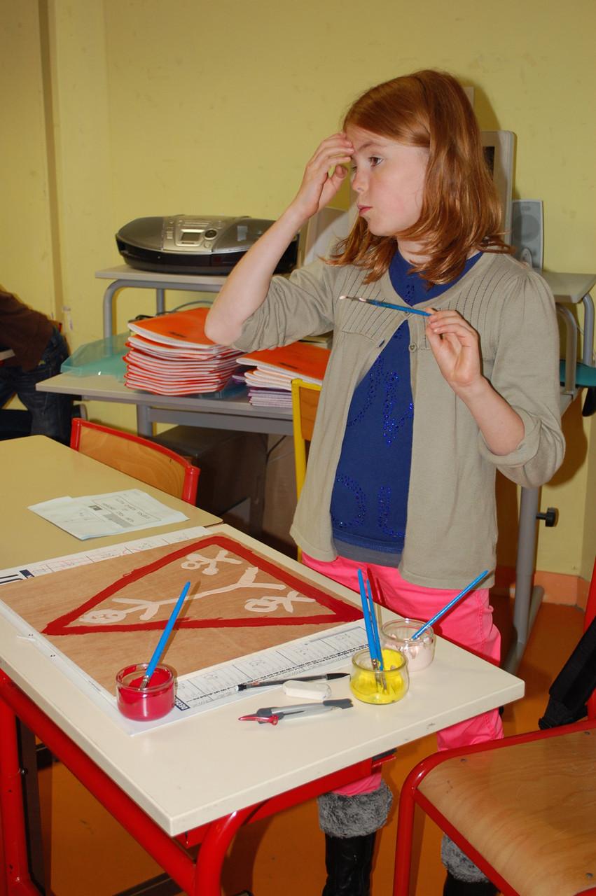Rencontre-atelier avec Thomas Tudoux - CM1-CM2 M Ecole élémentaire publique Moulin à Vent, Montfort-sur-Meu