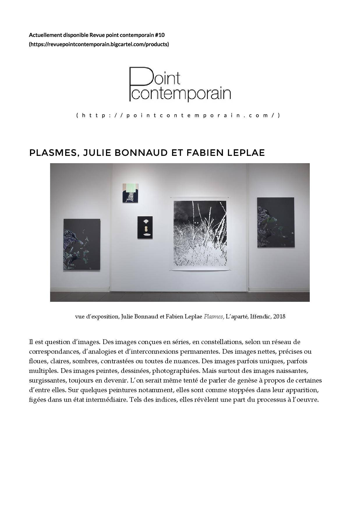 Article Point contemporain #10