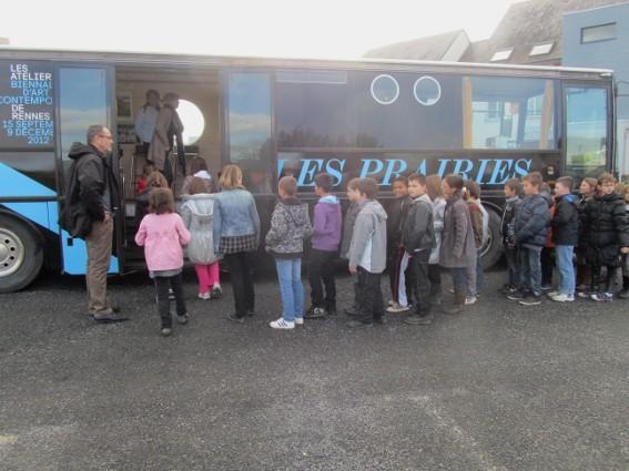 13 novembre 2012 - La Caravane à Breteil - photo correspondant Ouest-France de Breteil