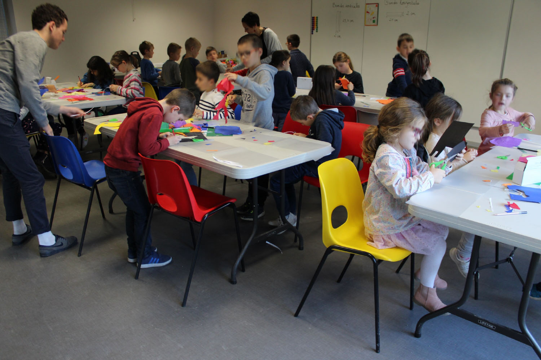 Classe de CE1-CE2 de l'école La Fée Viviane d'Iffendic