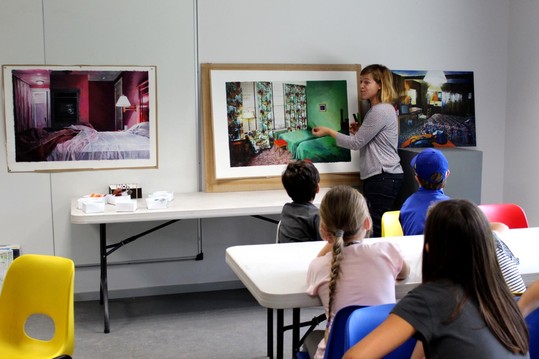 Rencontre avec Julie Giraud - classe de CE2-CM1 de l'école élémentaire du Pays Pourpré de Montfort-sur-Meu