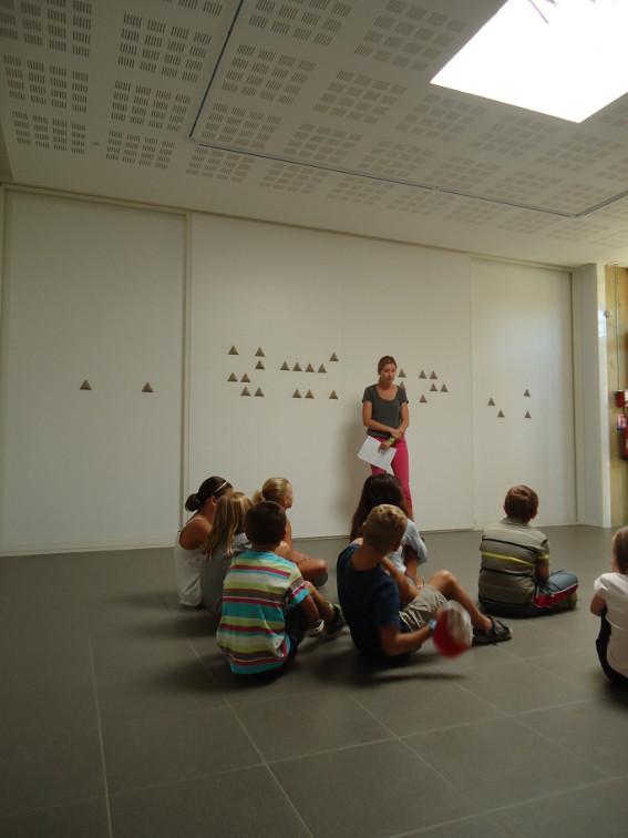 Visite de l'exposition Jean-Benoit Lallemant, Data Mining