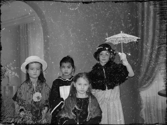 Photo de filles - CP école élémentaire publique Fée Viviane Iffendic