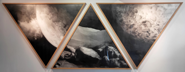 Vue de l'exposition Angélique Lecaille
