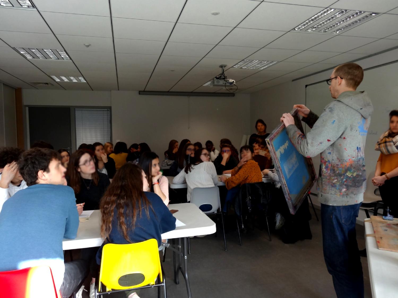 Première Littéraire du lycée René Cassin de Montfort-sur-Meu