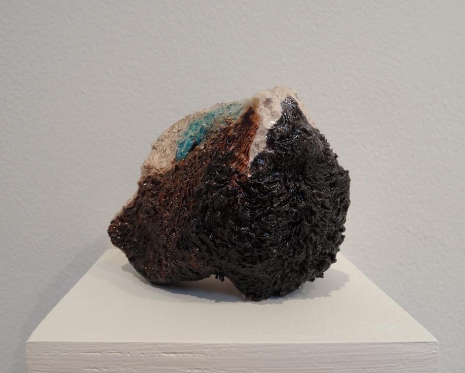 Noémie Sauve, Tête de mouton - Céramique, 9x9x9cm, 2015