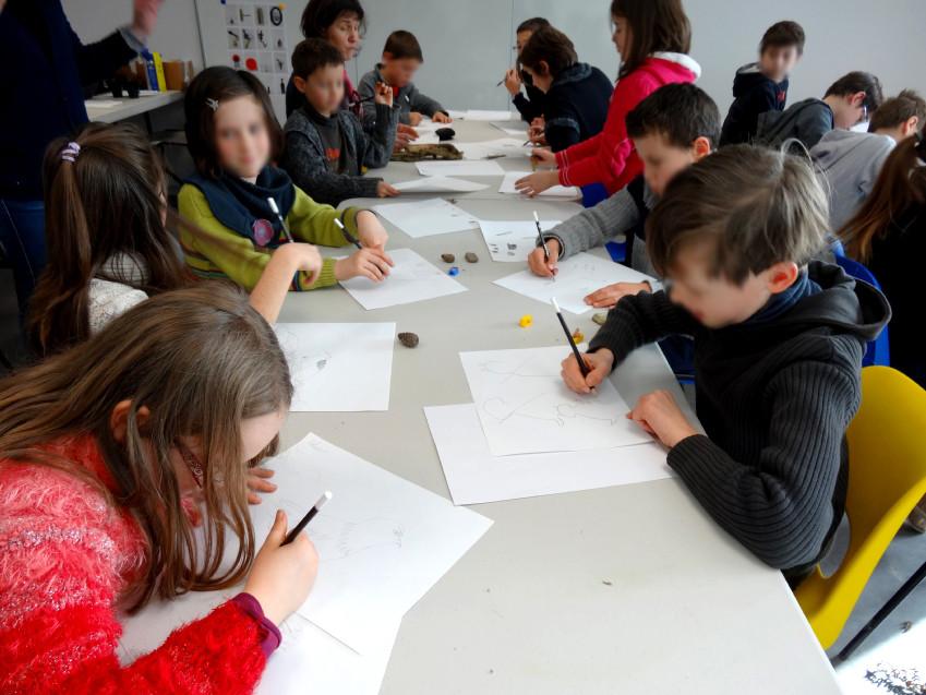 Classe de CE2-CM1 école élémentaire publique du Moulin à Vent, Montfort-sur-Meu