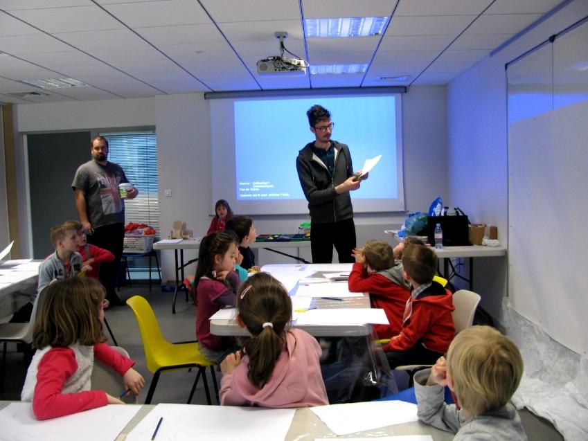 CP école élémentaire publique Les 3 rivières, Breteil le 07.04.15
