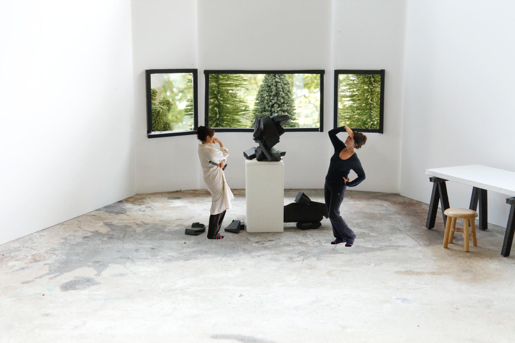 Muriel Bordier, L'artiste en résidence, détail film d'animation, 2014.