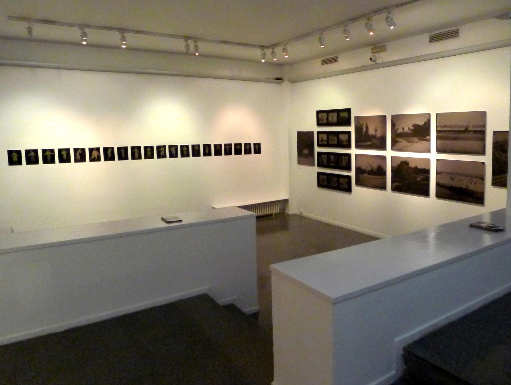Vue des oeuvres de Cédric Martigny et Marc Loyon. DR Israel Ariño
