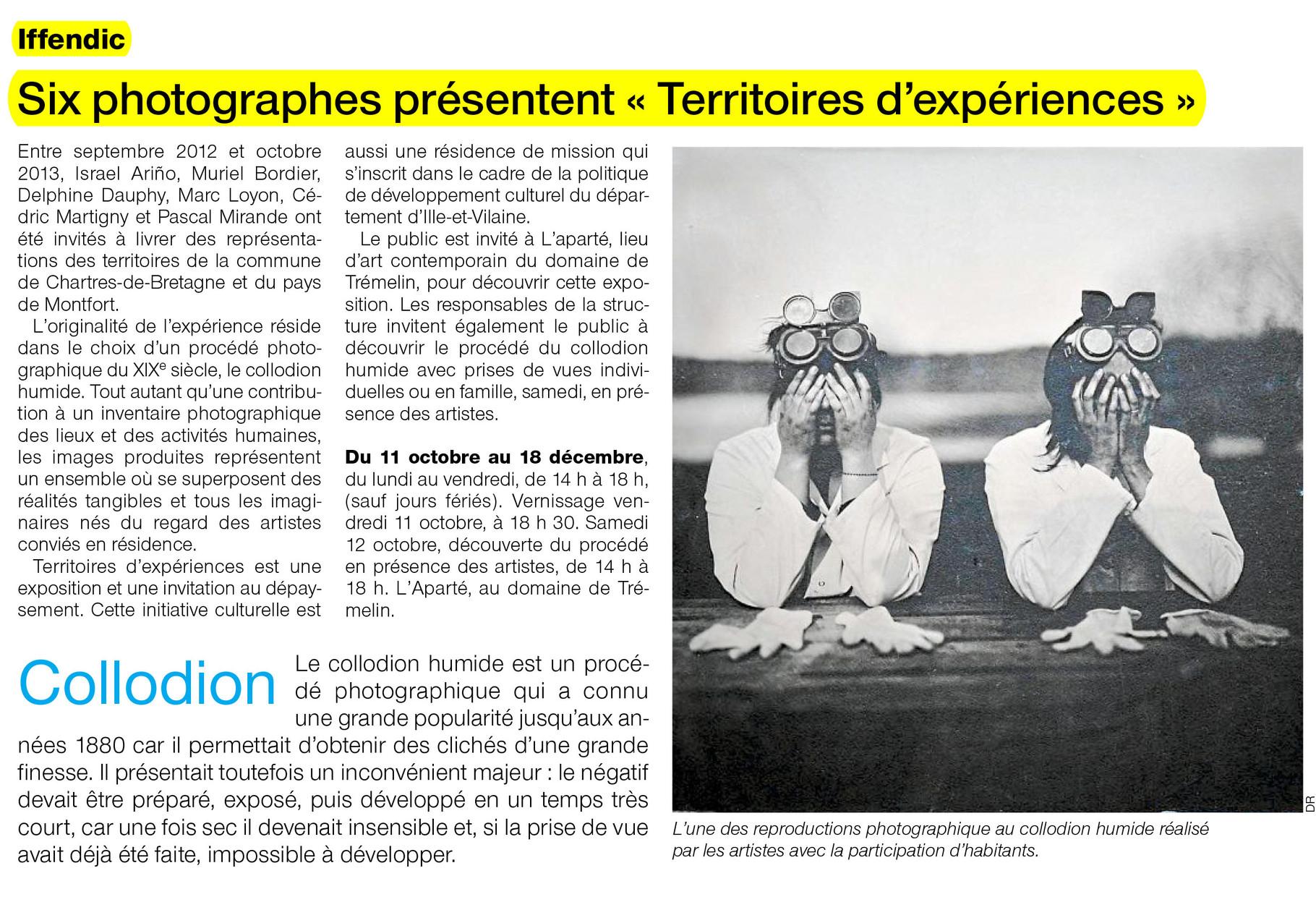 Ouest-France - 8 octobre 2013