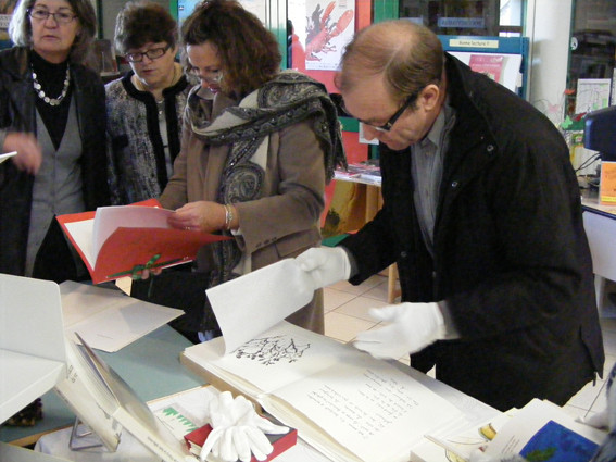 Vernissage Herbier(s). Photo : Bernard Toti pour L'Hebdomadaire d'Armor