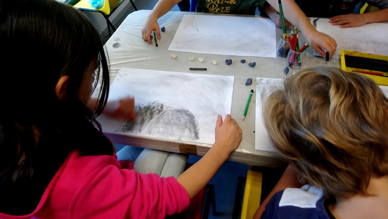 Visiste-atelier - classe de CE1-CE2  de l'école la Fée Viviane d'Iffendic