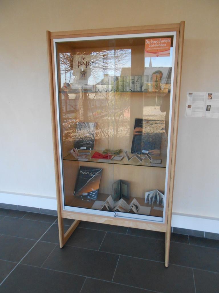 Livres d'artistes présentés à la bibliothèque La Parchemine de Pleumeleuc
