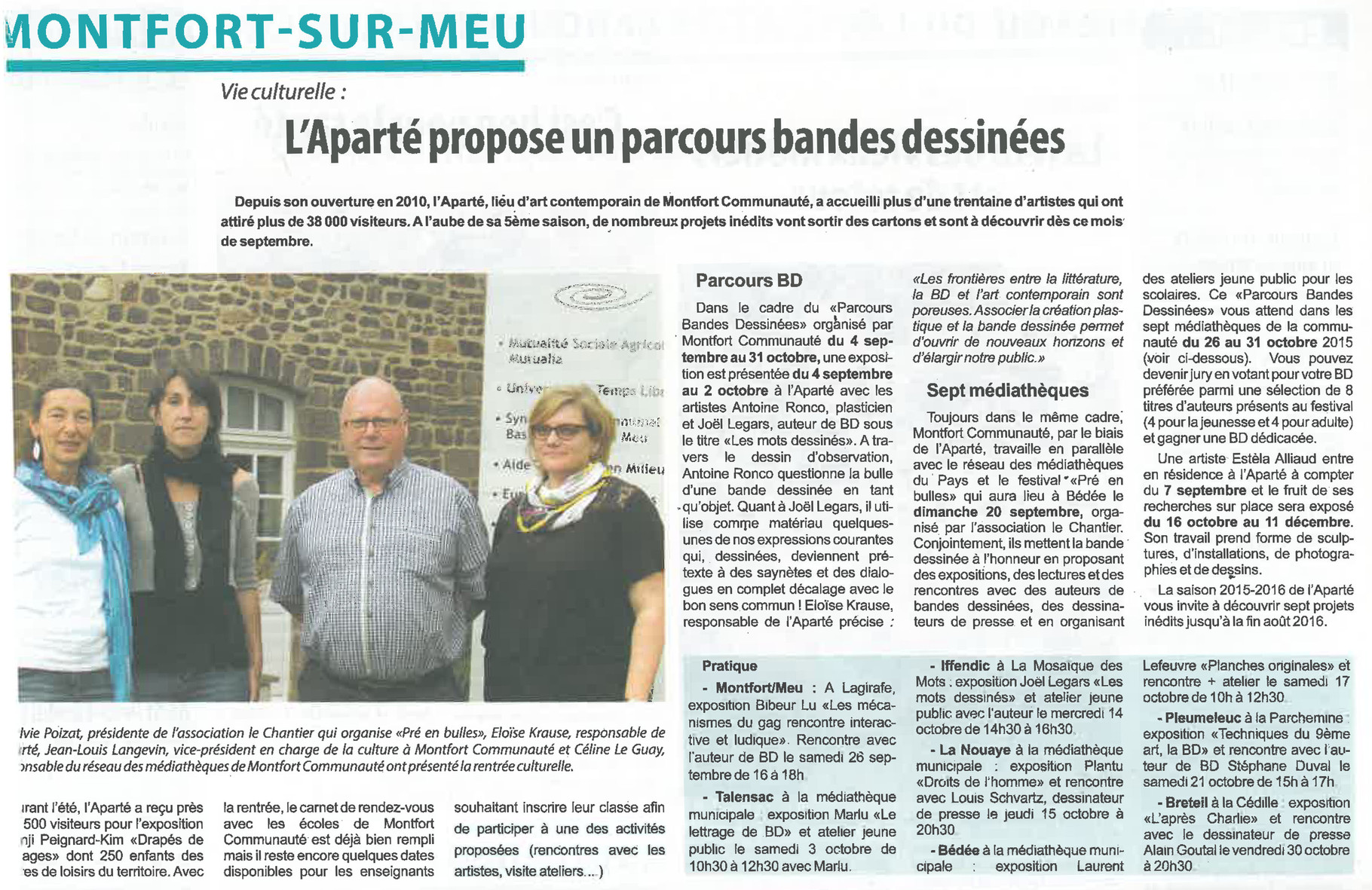 Ouest-France - 5 septembre 2015