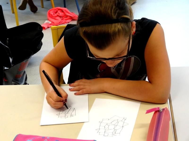 Rencontre avec les artistes et les CM2 des Trois rivières de Breteil