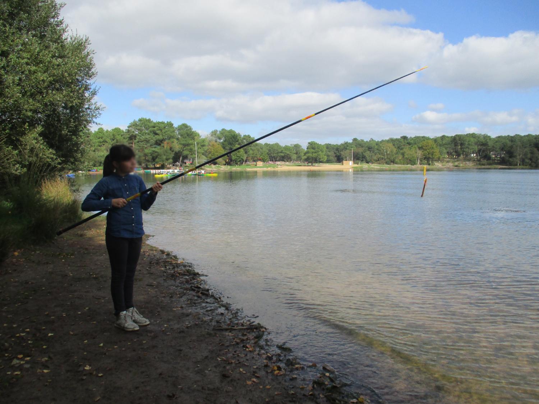 Projet photo : Poisson pêcheur - CM1-CM2 école publique les trois rivières de Breteil