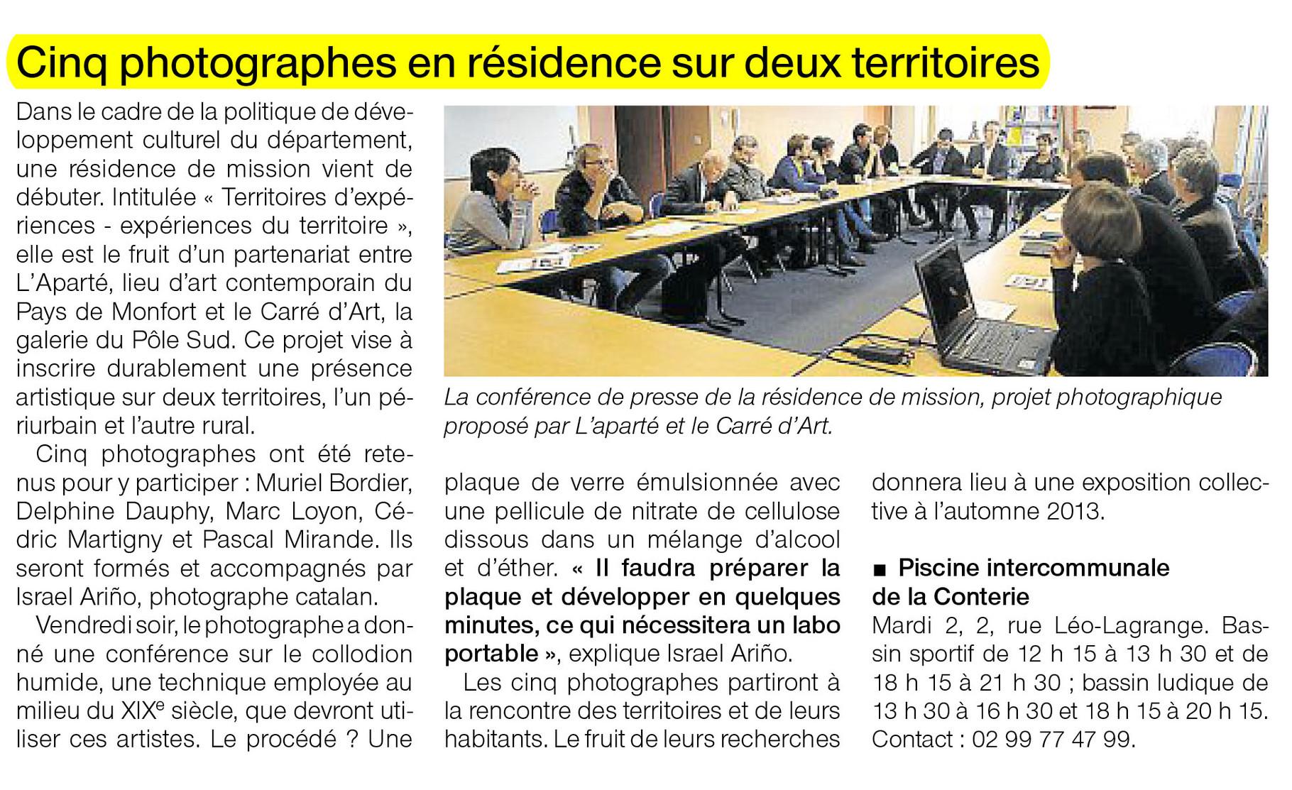Ouest-France - 2 octobre 2012