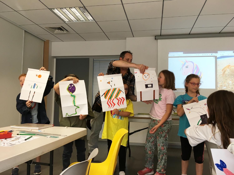 Classe de CM1-CM2 de l'école La Fée Viviane d'Iffendic
