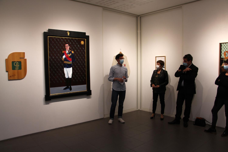 Vernissage de l'exposition Fabien Gilles, AVE