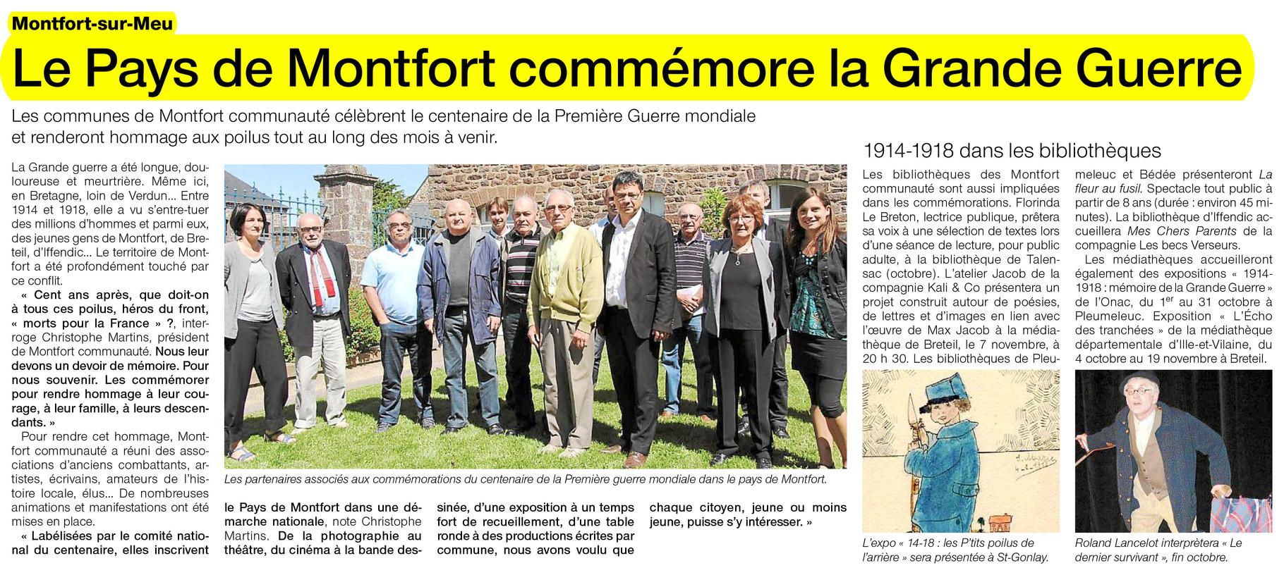 Ouest-France - 11 juin 2014