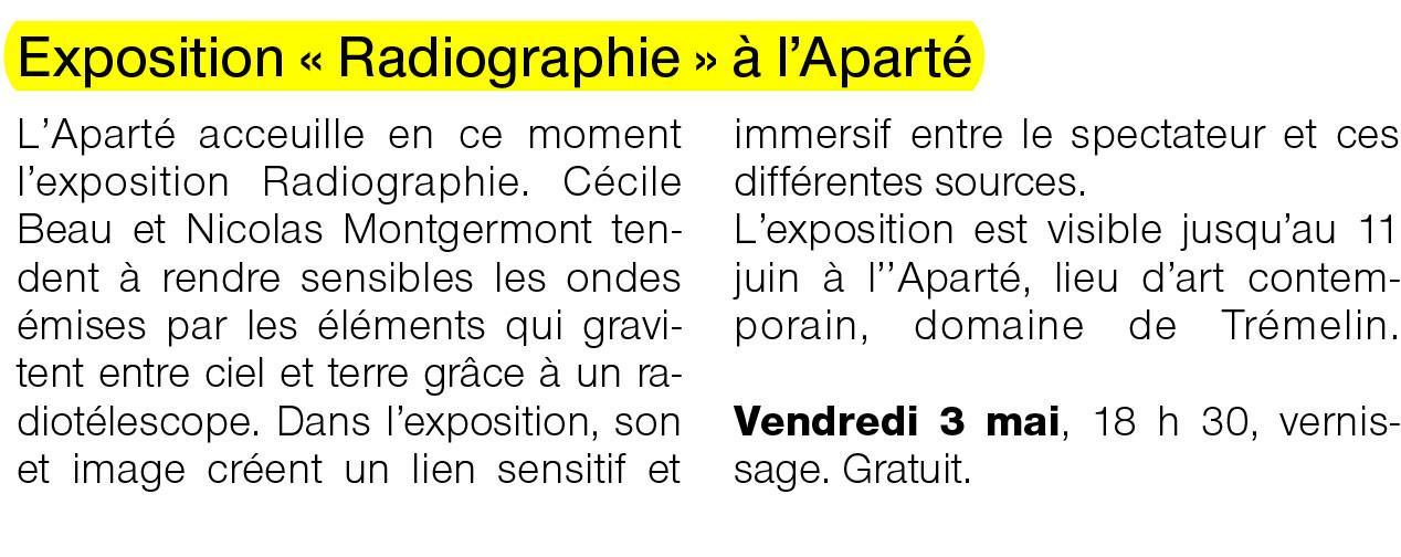 Ouest-France - 2 mai 2013