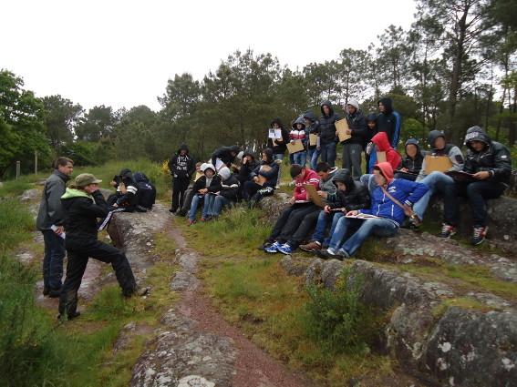 Parcours nature - découverte des points de vue possibles pour l'atelier photo