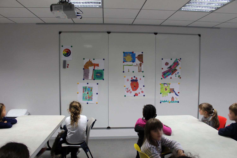 Classe de CE1 de l'école élémentaire publique du Pays Pourpré à Montfort-sur-Meu